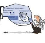 Dernier jour pour déclarer vos impôts si vous habitez Paris ou l'Île-de-France - Dessin de Deligne
