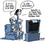 Le gouvernement Grec ferme brutalement la télévision publique ERT - Dessin de Deligne