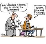 Bac 2013 et espionnage - Dessin de Deligne
