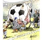 Foot : à un an de la Coupe du monde au Brésil - Dessin de Mutio