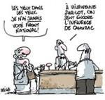 """Législatives à Villeneuve-sur-Lot. Cahuzac : """"Ils n'ont rien compris"""" - Dessin de Deligne"""