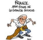 Tour de France et austérité - Dessin de Deligne