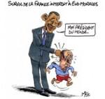 Snowden : une rumeur provoque un imbroglio entre la France et la Bolivie - Dessin de Mric