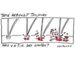 Affaire de l'arbitrage : la justice saisit des biens de Bernard Tapie - dessin de Chimulus