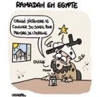 Egypte : ramadan sous tension - Dessin de Lasserpe