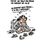 """Bernard Tapie accuse la justice d'avoir """"piqué ses biens"""" - Dessin de Lacombe"""