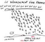Air France va supprimer 2500 postes de plus en 2014 - Dessin de Chimulus
