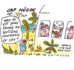Protection policière : Nicolas Sarkozy récuse tout traitement de faveur - Dessin de Chimulus