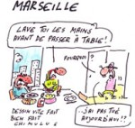 Chaude ambiance à Marseille - Dessin du jour de Chimulus