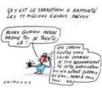 Nicolas Sarkozy : Telle est ma quête - Dessin du Jour de Chimulus