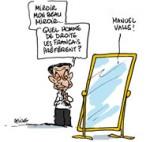 Nicolas Sarkozy teste sa popularité à Nice et Cannes - Dessin du Jour de Deligne