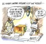 Nouveau compteur Linky : Le jackpot que EDF veut faire payer aux usagers - dessin du Jour de Mutio
