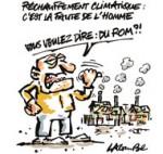 L'Homme responsable du réchauffement climatique selon le GIEC - Dessin du jour de Lacombe