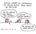 Le compagnon de Cécile Duflot ferme son compte Twitter après avoir critiqué Valls - Dessin du jour de Chimulus