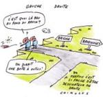 À Brignoles, un duel FN-UMP au second tour - Dessin du jour de Chimulus