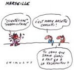 Psychodrame au PS à Marseille - Dessin du jour de Chimulus