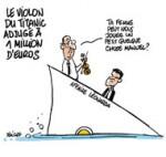 """Affaire Leonarda : """"Soyons fiers de ce que nous faisons"""", assure Manuel Valls - Dessin de Deligne"""