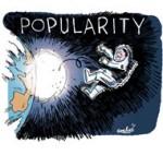 Popularité : Hollande au plus bas à 23% - Dessin de Soulcié