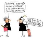 "Les vieilles dames ""like"" Urtikan.net - Dessin de Cambon"