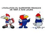 Le désamour des Français pour les Bleus - Dessin de Deligne