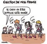 Qui sera Miss France 2014 ? - Dessin de Lasserpe