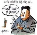 Corée du Nord : Kim Jong-un fait exécuter son oncle et mentor - Dessin de Mutio