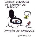 Suspecté de fraude, Claude Guéant est en garde à vue - Dessin de Chimulus