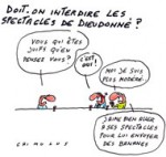 """Face à Dieudonné, Valls veut casser une """"mécanique de haine"""" - Dessin de Chimulus"""