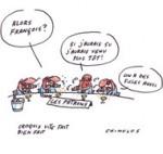 François et les patrons - Dessin de Chimulus
