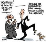 """Un an de prison ferme pour le """"lanceur de chat"""" - Dessin de Deligne"""