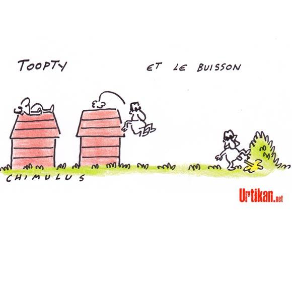 Enregistrements de Patrick Buisson : Nicolas Sarkozy se dit « consterné» et «déçu» - Dessin de Chimulus
