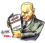 Le scénario russe de Vladimir Poutine pour l'Ukraine - Dessin de Mutio