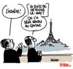 18 milliards d'euros de contrats entre la France et la Chine - Dessin de Deligne