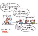 Remaniement : EELV refuse de participer au gouvernement de Manuel Valls - Dessin de Chimulus