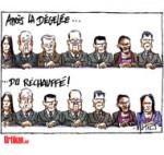 Gouvernement Valls: un renouveau pas si neuf - Dessin de Mutio