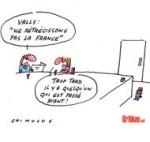 Discours de Manuel Valls: Les annonces du nouveau Premier ministre - Dessin de Chimulus