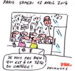 « Hollande ça suffit » : l'extrême-gauche manifeste à Paris - Dessin de Chimulus