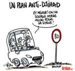 Jihadistes français : la France prendra «toutes les mesures» - Dessin de Deligne