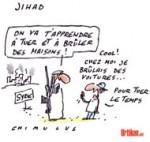 Rejoindre le Jihad en Syrie: 500 Français concernés - Dessin de Chimulus