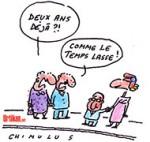 François Hollande bat un nouveau record d'impopularité pour ses deux ans à l'Elysée - Dessin de Chimulus