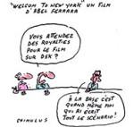 De DSK à Depardieu en passant par Sarkozy - Dessin de Chimulus