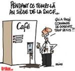 Pour renouveler ses TER, la SNCF commande des rames... trop larges - Dessin de Deligne