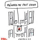 Béziers: Robert Ménard, nouveau maire, interdit le linge au balcon - Dessin de Chimulus
