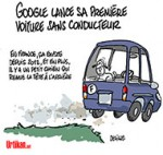 Technologie : Le Made in France surpasse Google - Dessin de Deligne