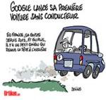 Technologie : Le Made in France surpasse Google - Dessin de Deligne