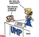 L'UMP reste en chantier après la chute de Copé - Dessin de Deligne