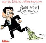 Affaire Bygmalion : les 42 meetings de Sarkozy auraient coûté 19 millions d'euros - Dessin de Cambon