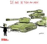 Tian'anmen, 25 ans de censure et d'amnésie - Dessin de Cambon