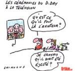 D-Day : l'Élysée éloigne Nicolas Sarkozy de François Hollande - Dessin de Chimulus