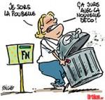 Le FN doit-il se séparer de son président d'honneur, Jean-Marie Le Pen ? - Dessin de Deligne